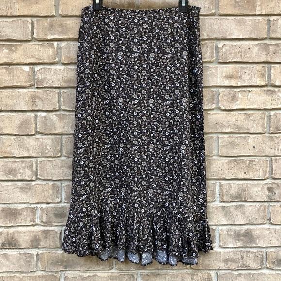 Christopher & Banks Dresses & Skirts - Chris. & Banks: floral midi skirt